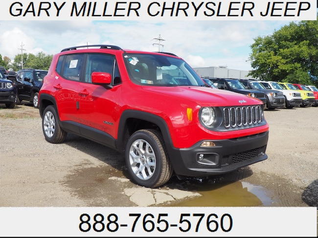New 2018 Jeep Renegade LATITUDE 4X4 Sport Utility Erie