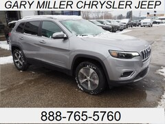 New 2019 Jeep Cherokee LIMITED 4X4 Sport Utility 1C4PJMDX3KD342516 for sale in Erie, PA at Gary Miller Chrysler Dodge Jeep Ram