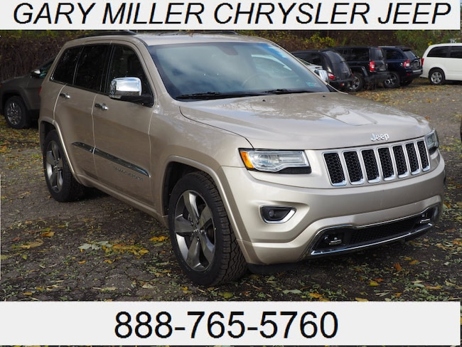Certified Pre-Owned 2015 Jeep Grand Cherokee Overland 4x4 SUV in Erie PA