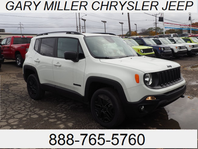 New 2018 Jeep Renegade UPLAND 4X4 Sport Utility Erie