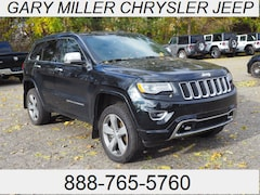 Certified 2015 Jeep Grand Cherokee Overland 4x4 SUV 1C4RJFCG3FC151518 for sale at Gary Miller Chrysler Dodge Jeep Ram in Erie, PA