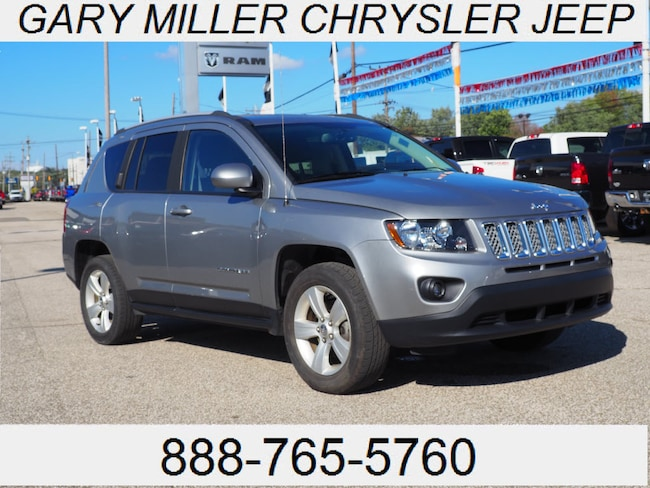 Certified Pre-Owned 2015 Jeep Compass Latitude 4x4 SUV in Erie PA