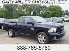 New 2018 Ram 1500 EXPRESS QUAD CAB 4X4 6'4 BOX Quad Cab for sale in Erie, PA at Gary Miller Chrysler Dodge Jeep Ram