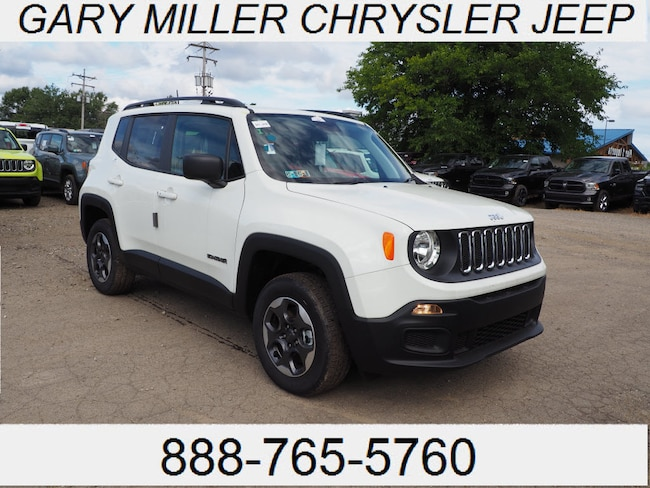 New 2018 Jeep Renegade SPORT 4X4 Sport Utility Erie