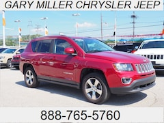 Certified 2016 Jeep Compass Latitude 4x4 SUV 1C4NJDEB7GD751426 for sale at Gary Miller Chrysler Dodge Jeep Ram in Erie, PA