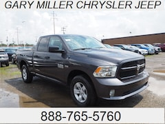 New 2018 Ram 1500 EXPRESS QUAD CAB 4X4 6'4 BOX Truck Quad Cab 1C6RR7FT3JS351246 for sale in Erie, PA at Gary Miller Chrysler Dodge Jeep Ram