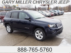 Certified 2016 Jeep Compass Latitude 4x4 SUV 1C4NJDEB5GD658212 for sale at Gary Miller Chrysler Dodge Jeep Ram in Erie, PA