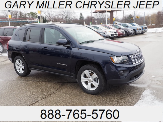 Certified Pre-Owned 2016 Jeep Compass Latitude 4x4 SUV in Erie PA