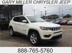 New 2019 Jeep Compass LATITUDE 4X4 Sport Utility 3C4NJDBB5KT592736 for sale in Erie, PA at Gary Miller Chrysler Dodge Jeep Ram