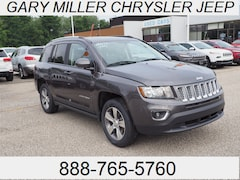 Certified 2016 Jeep Compass Latitude 4x4 SUV 1C4NJDEB1GD733598 for sale at Gary Miller Chrysler Dodge Jeep Ram in Erie, PA