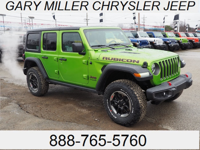 New 2019 Jeep Wrangler UNLIMITED RUBICON 4X4 Sport Utility Erie
