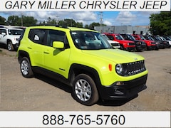 New 2018 Jeep Renegade LATITUDE 4X4 Sport Utility ZACCJBBBXJPH82226 for sale in Erie, PA at Gary Miller Chrysler Dodge Jeep Ram