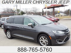 Certified 2018 Chrysler Pacifica Limited Van 2C4RC1GG8JR149724 for sale at Gary Miller Chrysler Dodge Jeep Ram in Erie, PA