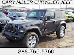 New 2019 Jeep Wrangler SPORT S 4X4 Sport Utility 1C4GJXAN5KW505529 for sale in Erie, PA at Gary Miller Chrysler Dodge Jeep Ram