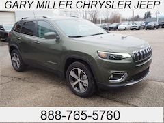 New 2019 Jeep Cherokee LIMITED 4X4 Sport Utility for sale in Erie, PA at Gary Miller Chrysler Dodge Jeep Ram