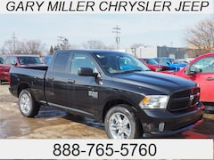 New 2019 Ram 1500 CLASSIC EXPRESS QUAD CAB 4X4 6'4 BOX Quad Cab 1C6RR7FG0KS535113 for sale in Erie, PA at Gary Miller Chrysler Dodge Jeep Ram