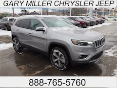 New 2019 Jeep Cherokee LIMITED 4X4 Sport Utility 1C4PJMDX5KD342520 for sale in Erie, PA at Gary Miller Chrysler Dodge Jeep Ram