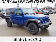 New 2018 Jeep Wrangler UNLIMITED SPORT 4X4 Sport Utility 1C4HJXDN8JW267996 for sale in Erie, PA at Gary Miller Chrysler Dodge Jeep Ram