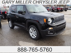 New 2018 Jeep Renegade LATITUDE 4X4 Sport Utility ZACCJBBBXJPJ03116 for sale in Erie, PA at Gary Miller Chrysler Dodge Jeep Ram
