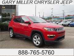New 2019 Jeep Compass LATITUDE 4X4 Sport Utility 3C4NJDBB0KT592725 for sale in Erie, PA at Gary Miller Chrysler Dodge Jeep Ram