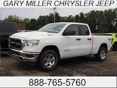 New 2019 Ram All-New 1500 TRADESMAN QUAD CAB 4X4 6'4 BOX Quad Cab for sale in Erie, PA at Gary Miller Chrysler Dodge Jeep Ram