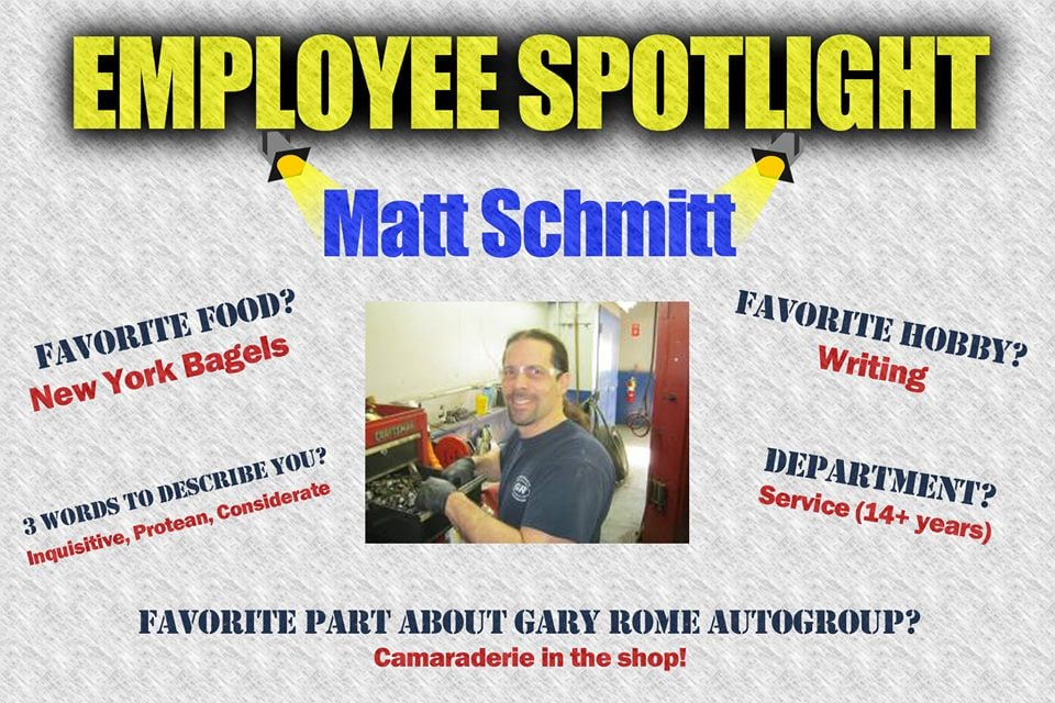 employee recognition gary rome hyundai. Black Bedroom Furniture Sets. Home Design Ideas