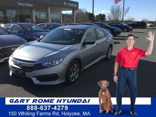 2016 Honda Civic LX Sedan For Sale in Enfield, CT