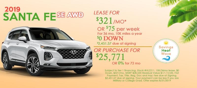 New Hyundai Santa Fe in Holyoke | Hyundai Dealer Near