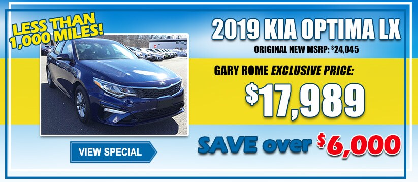 Pre Owned Vehicle Specials