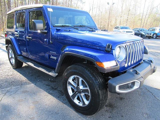 New 2019 Jeep Wrangler Unlimited Sahara Sport Utility for sale in Gastonia NC