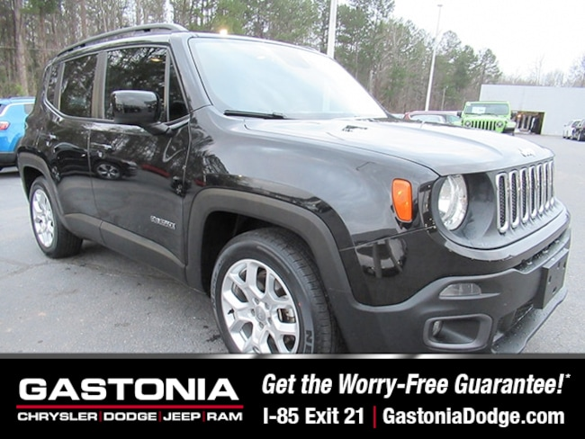 Used 2015 Jeep Renegade Latitude SUV for sale near Charlotte, NC
