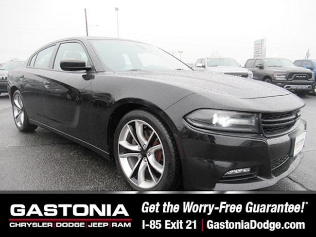 Used 2016 Dodge Charger R/T Sedan for sale near Charlotte, NC