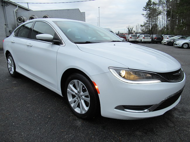 Used 2016 Chrysler 200 Limited Sedan for sale near Charlotte, NC
