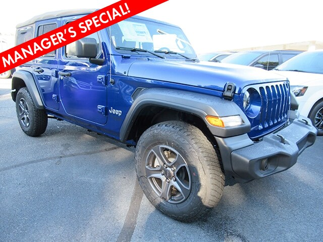 New 2018 Jeep Wrangler Unlimited Sport S Sport Utility for sale in Gastonia NC