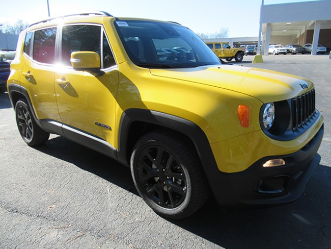 New 2018 Jeep Renegade Altitude Sport Utility for sale near Charlotte