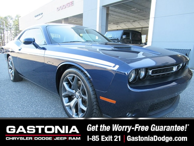 Used 2015 Dodge Challenger R/T Coupe for sale near Charlotte, NC