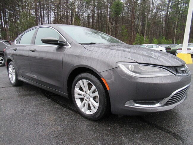 Used 2015 Chrysler 200 Limited Sedan for sale near Charlotte, NC