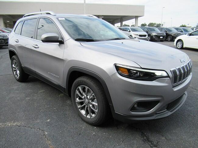 New 2019 Jeep Cherokee Latitude Plus Sport Utility for sale near Charlotte