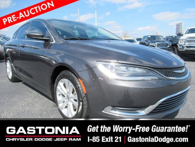 Used 2015 Chrysler 200 Limited Sedan for sale near Charlotte, NC