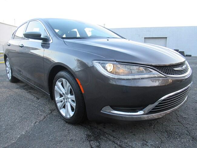 Certified 2016 Chrysler 200 Limited Sedan for sale near Charlotte, NC