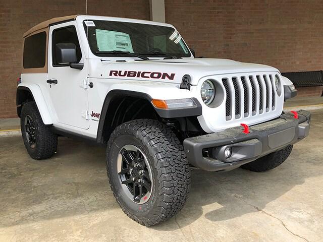 New 2019 Jeep Wrangler Rubicon Sport Utility for sale in Gastonia NC