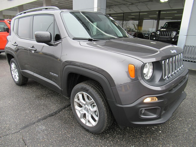 New 2018 Jeep Renegade Latitude Sport Utility for sale near Charlotte