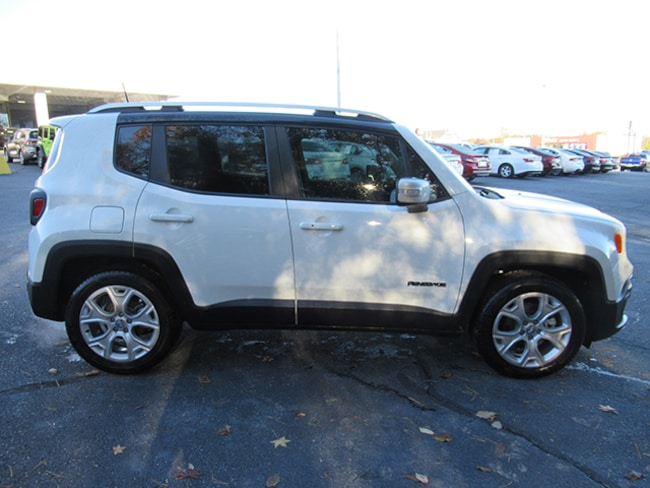 New 2018 Jeep Renegade Limited Sport Utility for sale near Charlotte