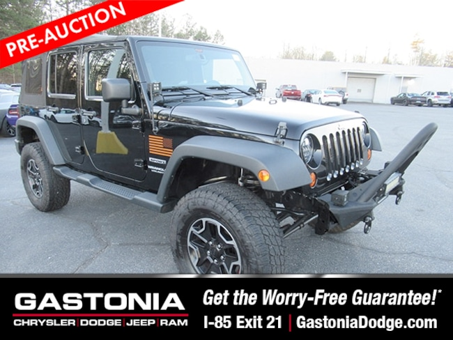 Used 2013 Jeep Wrangler Unlimited Sport SUV for sale near Charlotte, NC