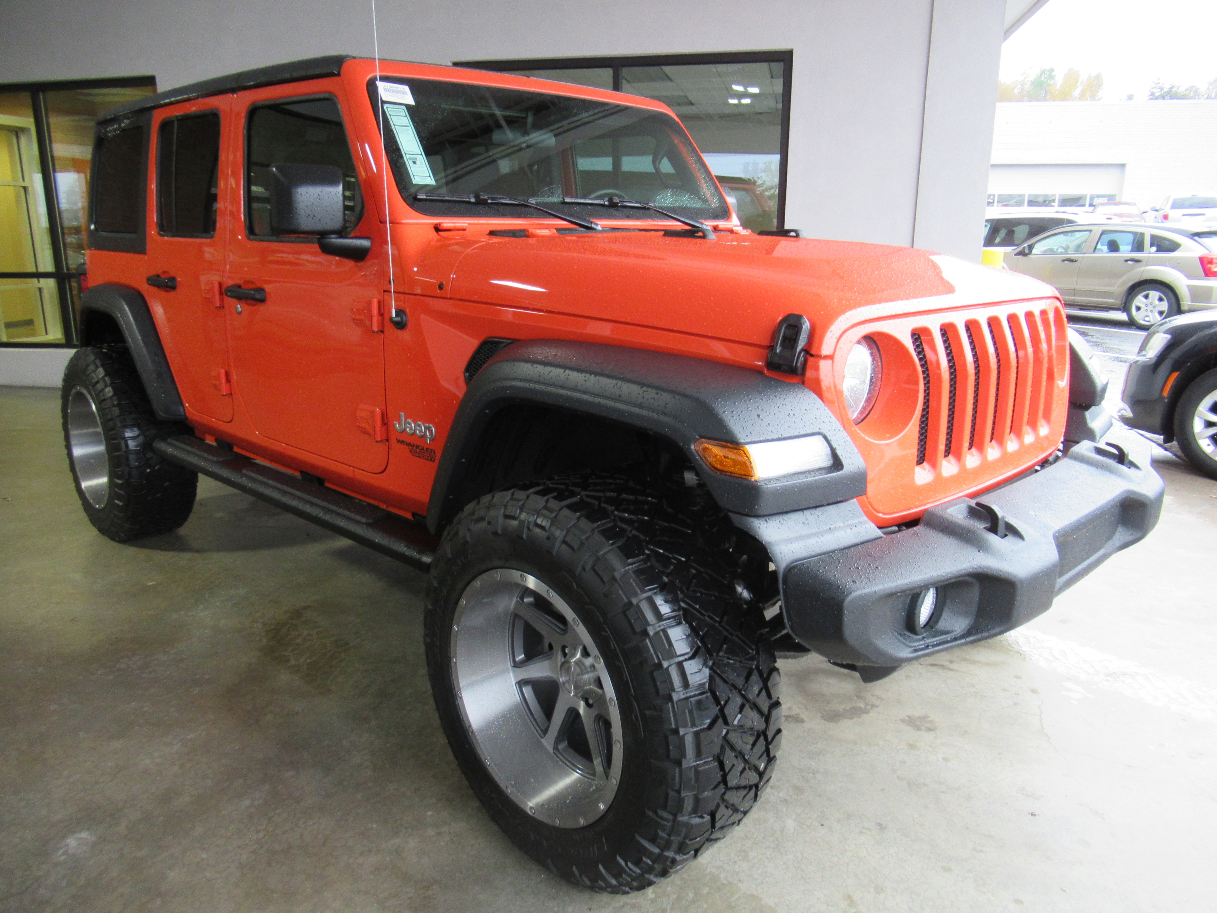 New 2018 Jeep Wrangler Unlimited Sport Sport Utility for sale in Gastonia NC