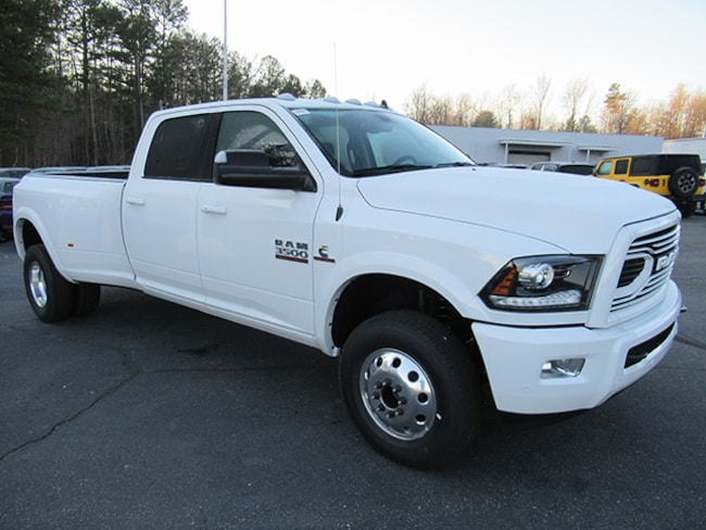 New 2018 Ram 3500 Laramie Crew Cab for sale near Charlotte