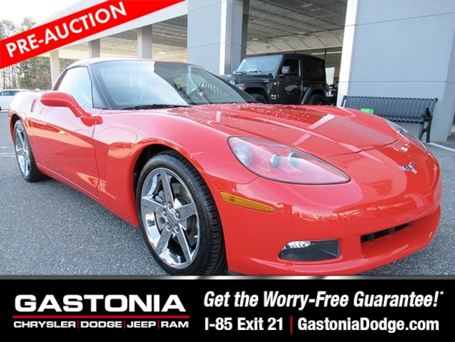 Used 2010 Chevrolet Corvette Base Coupe for sale near Charlotte, NC