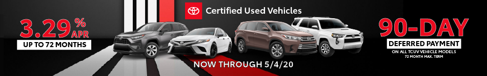 90-Day Deferred Payment on Certified Vehicles