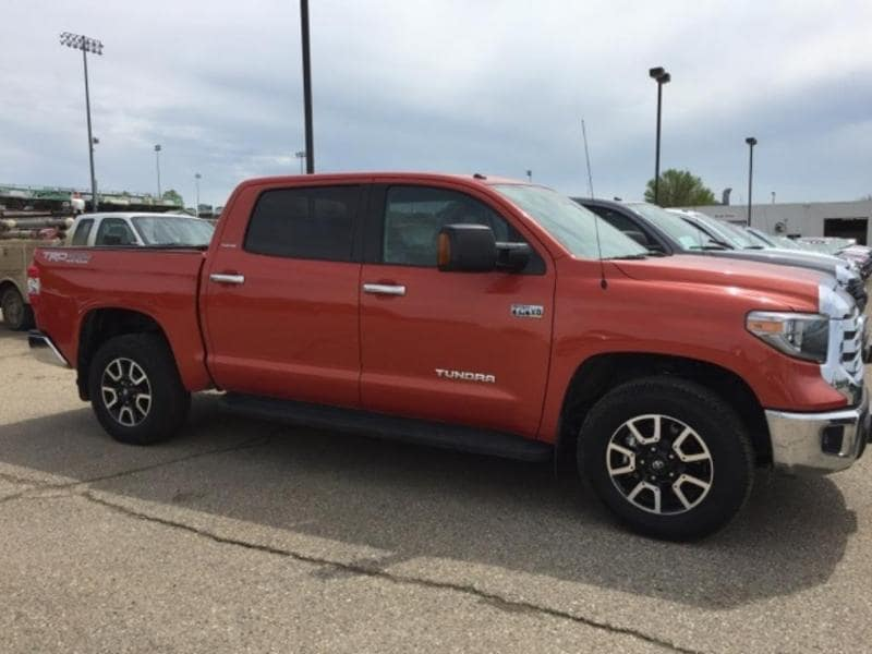 2018 Toyota Tundra Limited Crew Cab Long Bed Truck