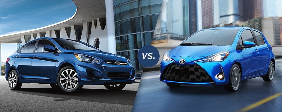 Comparison: 2017 Hyundai Accent vs 2017 Toyota Yaris